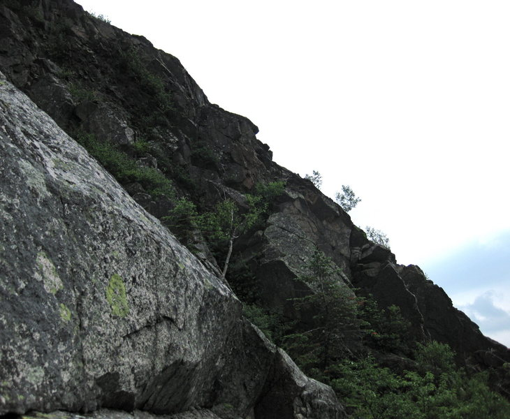 Rock Climbing Photo: the third buttress south west to us.