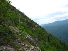 Rock Climbing Photo: The fourth buttress south west and hidden by the t...