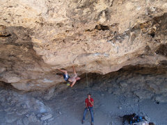 Rock Climbing Photo: MattL at the start of Dope