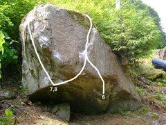 Rock Climbing Photo: 6. Marco's Cave V8 7. Pac-man V4 8. Backlash V5