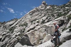 Rock Climbing Photo: Top of Schoolroom West
