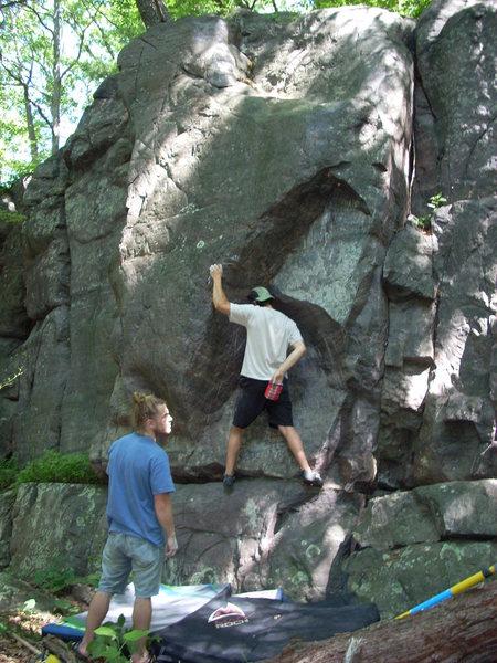 Rock Climbing Photo: Skinny.