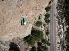 Rock Climbing Photo: Is that Brett Fav...ruh following the 3rd pitch?  ...