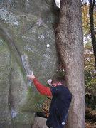 Rock Climbing Photo: Dobbe in 2004.