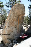 Rock Climbing Photo: March Boulder Topo