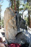 Rock Climbing Photo: March Arete Topo