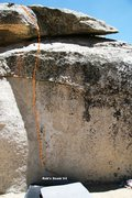 Rock Climbing Photo: Rob's Seam V4 Topo