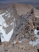 Rock Climbing Photo: Looking down the East Ridge from near the east sum...