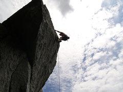 Rock Climbing Photo: Great Profile of strawberry jam