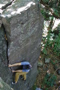 Rock Climbing Photo: Amazing crack. Photo: Rhoads