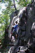 Rock Climbing Photo: NU Vince.