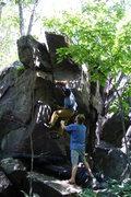 Rock Climbing Photo: Super fun moves.