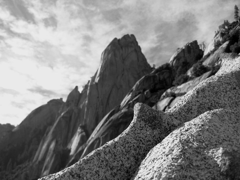 Rock Climbing Photo: The Needles.  Taken from White Punks On Dope  7/8/...