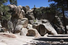 Rock Climbing Photo: Parking Lot formations