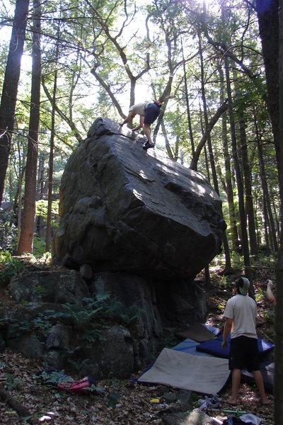 Rock Climbing Photo: Steinke Boulder