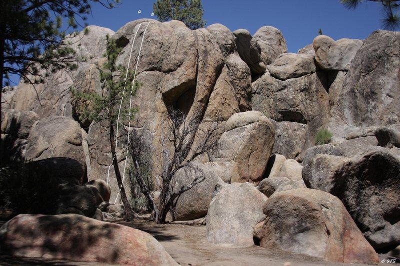 Rock Climbing Photo: Five O'Clock Shadow, 5.11