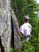 Rock Climbing Photo: I'm doing the belay.