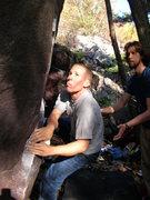 Rock Climbing Photo: Steve Schultz.