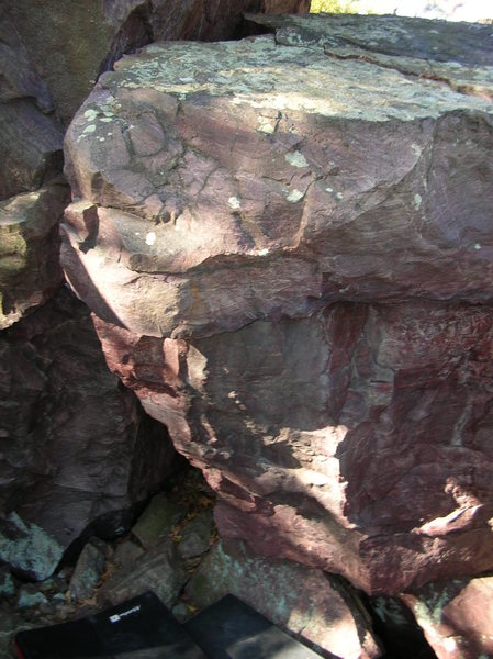 Rock Climbing Photo: Unknown climb. I think it's this area. Taken in 20...