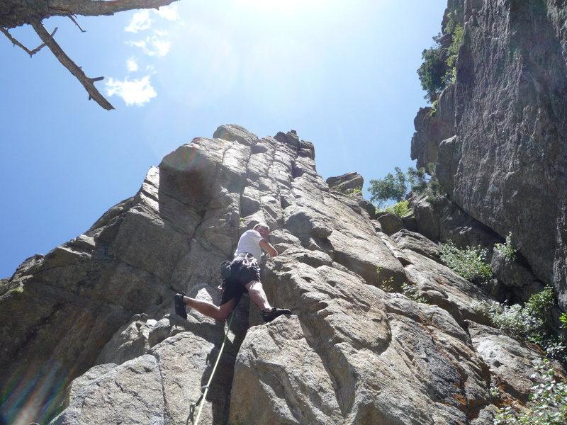 Rock Climbing Photo: Dominating.