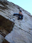 Rock Climbing Photo: goodros crack BCC