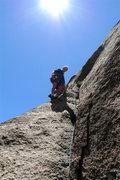 Rock Climbing Photo: Chuck again.