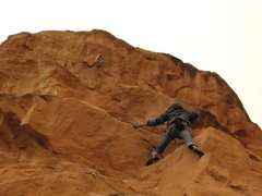 Rock Climbing Photo: Crux of Potash