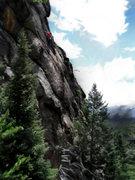 Rock Climbing Photo: Luke Childers climbing the supper cool upper head ...