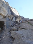 Rock Climbing Photo: 1st Pitch S. Buttress Right