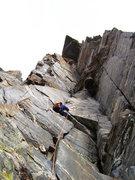Rock Climbing Photo: Dihedral of Horrors -- Death Canyon GTNP