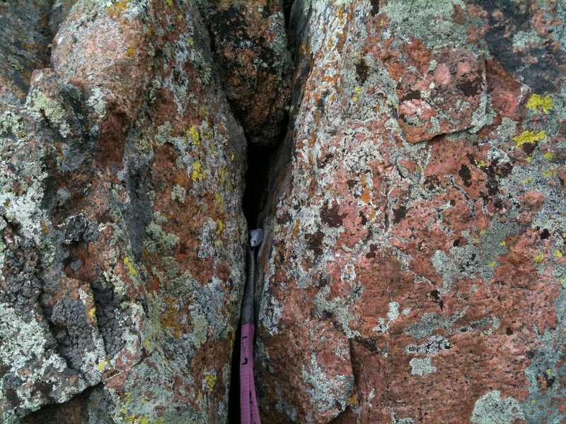Rock Climbing Photo: Pinkies RULE!!