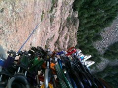 Rock Climbing Photo: C3's, Link Cams and C4's oh my!!