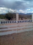 Rock Climbing Photo: Boothill Graveyard, Tombstone AZ.  The Dragoon Mou...