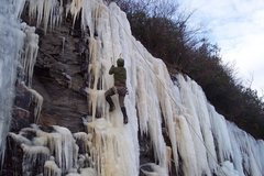 Rock Climbing Photo: ICE in GA