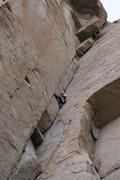 Rock Climbing Photo: Sheila, 10a, Pine Creek, Bishop, CA