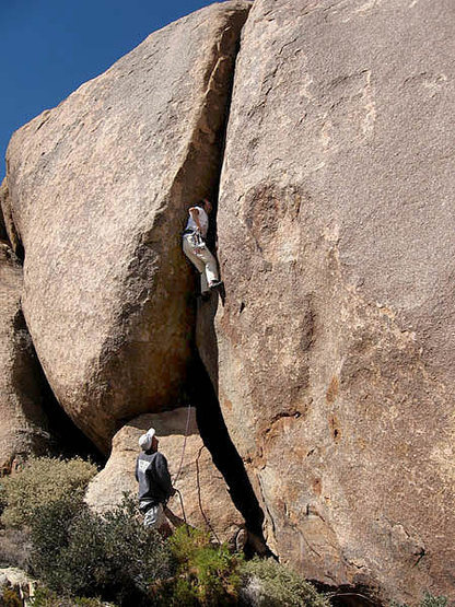 "Rock Climbing Photo: Tucker Tech on the FA of ""Blow the Scro""..."