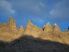 Rock Climbing Photo: The Keyboard of the Winds from the base of Spearhe...
