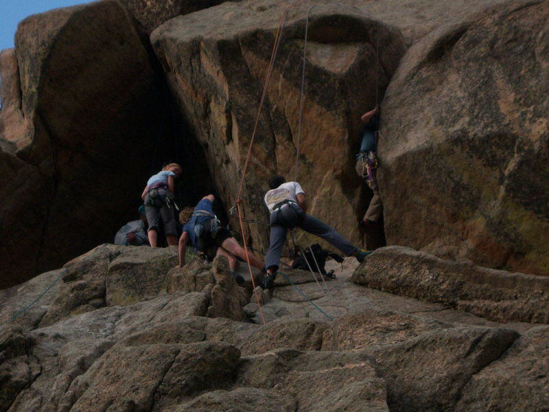 Rock Climbing Photo: The Dome 7.14.09-