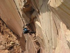 Rock Climbing Photo: A4 pitch of Latittudes