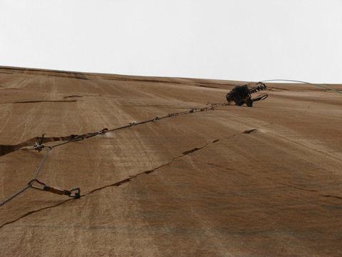 Rock Climbing Photo: thin