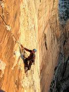 Rock Climbing Photo: hour 30 or so