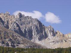 NW ridge of Tweedy