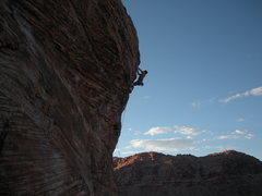 "Rock Climbing Photo: Ian Donnelly on ""Caustic""."