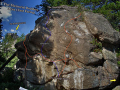 "Rock Climbing Photo: Photo beta for ""The Sausage Nome Boulder.&quo..."