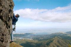 Rock Climbing Photo: You can't beat the views of the Bay.  Marisa Fienu...