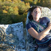 A nice spot for a nap on an October afternoon in the Gunks.