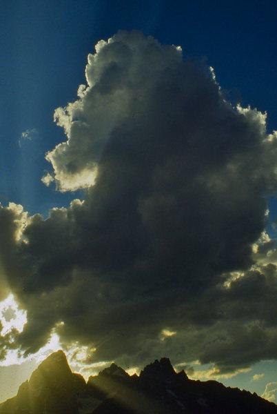 Teton cloudscape.