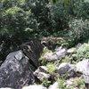 Great slab climb.<br> Photo: RV