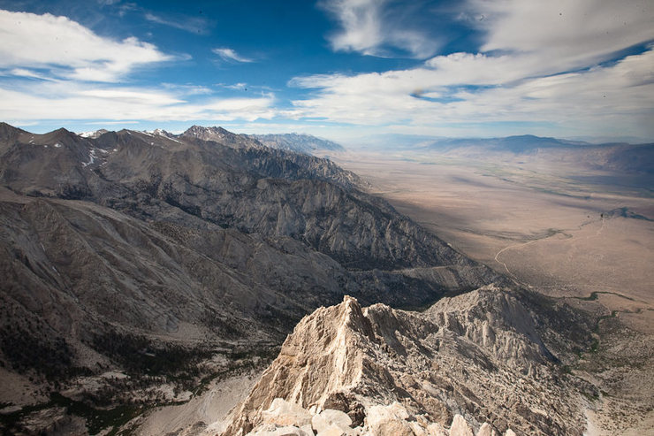Rock Climbing Photo: North Ridge, Lone Pine Peak