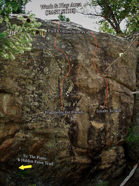 "Rock Climbing Photo: Photo beta for ""Loyalty To Skill."""
